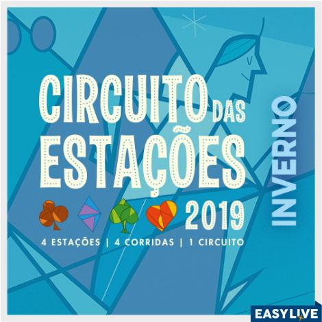 INSCRIÇÕES ABERTAS – CORRIDA CIRCUITO DAS ESTAÇÕES – INVERNO – 16/06/2019
