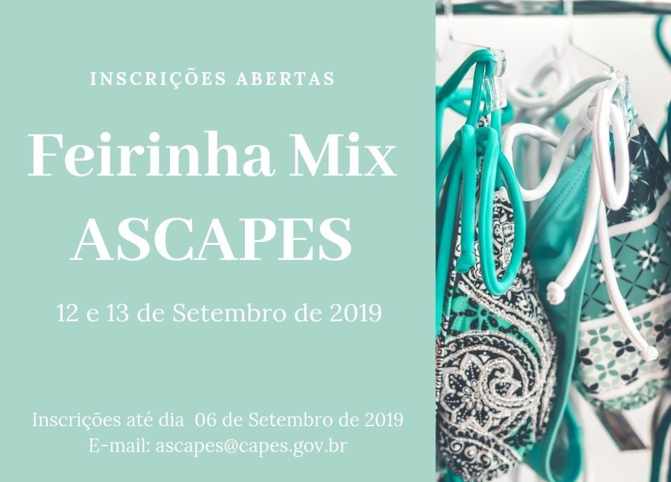 Feirinha Mix – 12 e 13 de Setembro