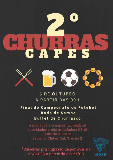 5  DE OUTUBRO – 2º CHURRASCAPES!