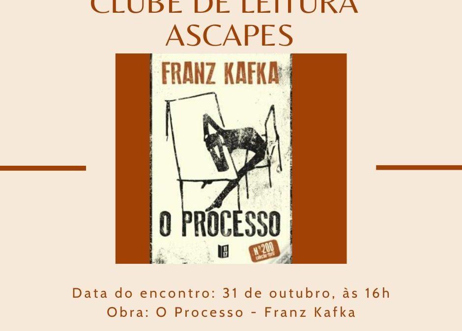 CLUBE DE LEITURA ASCAPES