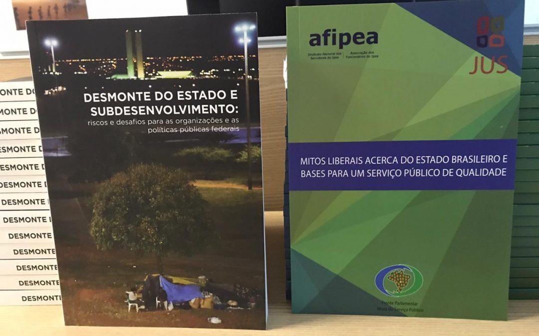 Livros sobre o Estado brasileiro estão disponíveis na Associação