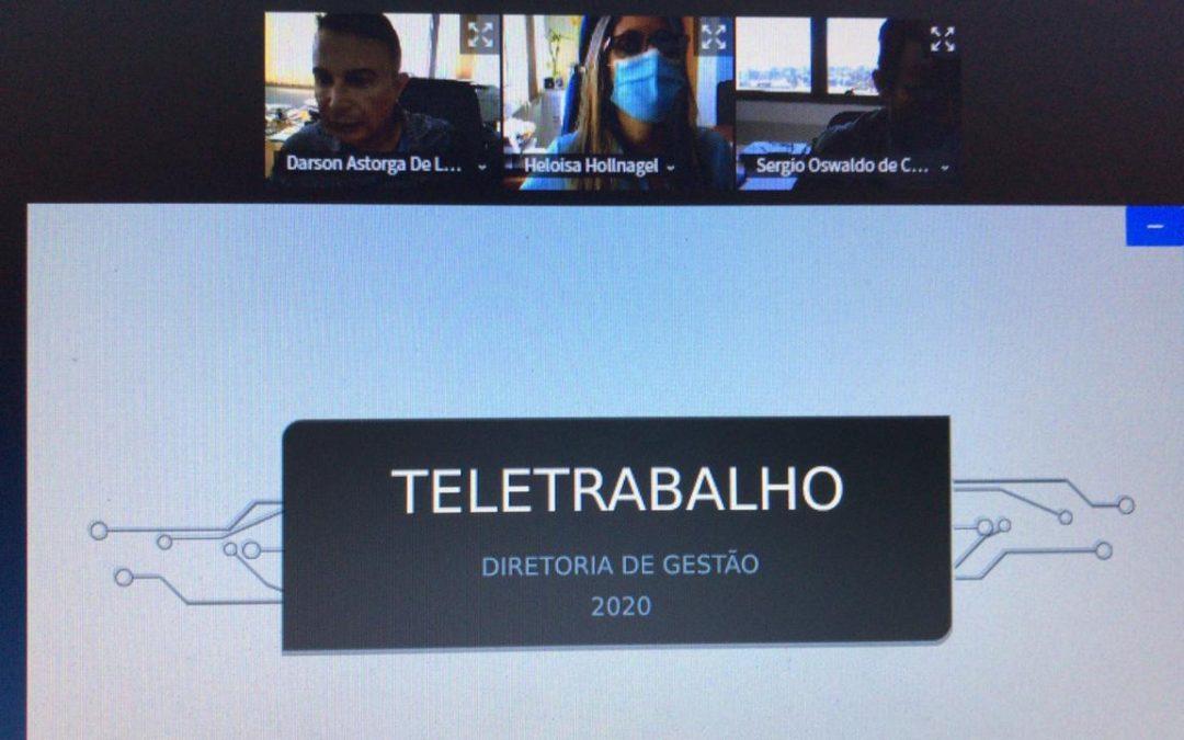 GT do Teletrabalho têm início com representação dos servidores