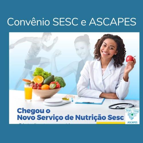 Convênio SESC e ASCAPES: Serviço de nutrição