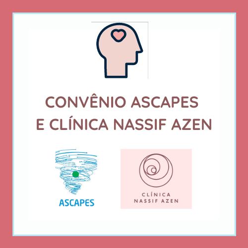 Convênio ASCAPES e Clínica Nassif Azen